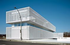 JIN Co. Office Building completed by Jun Aoki & Associates in 2005