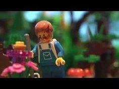 """AWESOME! Das Gedicht """"Gefunden"""" von Johann Wolfgang von Goethe.  I love the videos from Go Lego!"""