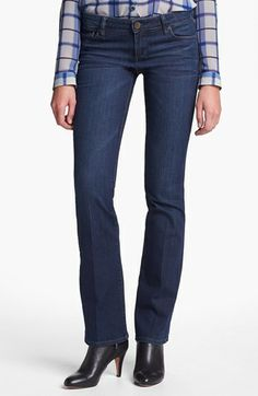 KUT from the Kloth 'Farrah' Mini Bootcut Jeans (Whim) (Regular & Petite) available at #Nordstrom; I have these