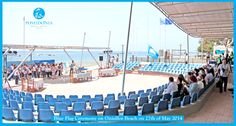 #BlueFlag #Ceremony today on the #Onissilos #Beach...the #New Poseidonia Beach Hotel is on the #Onissilos Beach! The Blue Flag is a voluntary #eco-label awarded to '#clean' #beaches and #marinas around the #world. #environment #intiative #sustainability #ecotourism #mediterranean #Hotels #resorts #summer #sunny #Lovecyprus #cyprusbeauty #crystalwaters