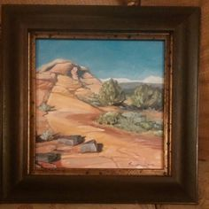 oil on panel, a hike we took inside of Snow Canyon, Utah, by Susan Grove Canyon Utah, Art Work, Landscapes, Snow, Oil, Fine Art, Painting, Artwork, Paisajes