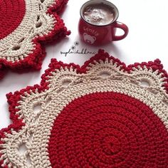 1 million+ Stunning Free Images to Use Anywhere Crochet Home, Love Crochet, Crochet Crafts, Crochet Yarn, Crochet Projects, Crochet Mandala, Crochet Doilies, Crochet Flowers, Crochet Placemat Patterns