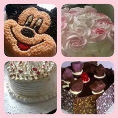 curso Decoracion de tortas en Cremas