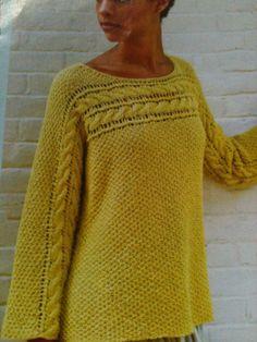 Nice Berocco sweater.