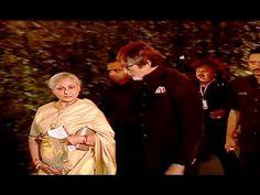 Amitabh Bachchan & Jaya Bachchan at Ronnie Screwvala's daughter's wedding ceremony.