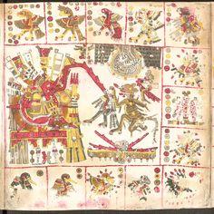 Codex Borgia, se le atribuye a la cultura mexica (aztecas) pero no hay seguridad.De España se lo llevo a Italia,donde permanece,en la Biblioteca del Vaticano.,por mas que el Gobierno Mexicano lo ha reclamado mucha veces...