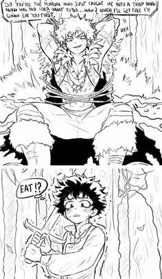 Characters: Dragon king - Katsuki Bakugou, adventurer or knight - Midoriya Izuku My Hero Academia Shouto, My Hero Academia Episodes, Hero Academia Characters, Cute Anime Guys, Anime Love, Arte Van Gogh, Bakugou Manga, Villain Deku, Anime Lindo
