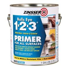 High Quality White Water Based Interior/Exterior Primer And Sealer
