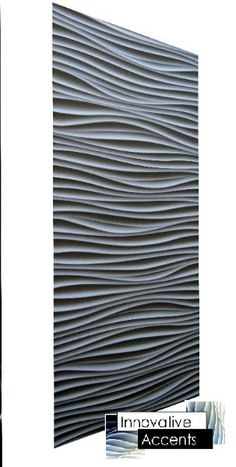 Innovative Accents is at the forefront of modern interior wall paneling design ideas. Our decorative wall panels can be applied as full length mono-continues feature walls or an accent to add some texture to an otherwise boring space. Basement Wall Panels, Mdf Wall Panels, Textured Wall Panels, Decorative Wall Panels, Fireplace Feature Wall, Fireplace Wall, Toulouse, 3d Wandplatten, Kallax Regal