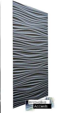 Innovative Accents - 3D Wall Panels - Decorative Wall Panels - Wave Wall Panels…