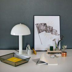Sidnie Lamp - White | Table + Floor Lamps | Lighting
