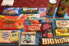 Today's epic @TaffyMail delivery! Even managed to get my namesake bar in there! ;) definitely recommend the extra box