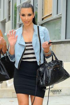 I'm not a big fan of Kim K, but i love her outfit.