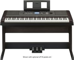 The DGX-650 is Yamaha's newest ensemble digital piano to feature a variety of interactive features that make learning, playing and sharing music fun for everyone. Acoustic piano touch and tone come first via the Graded Hammer Standard action and PureCF sampling, which includes recordings of a Yamaha concert grand piano.