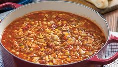 Paula Deen's classic Brunswick stew is classic comfort food you can tuck in when you need some warmth in your bones. It's filling and delicious.