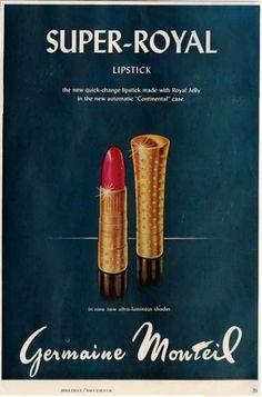 3b357937bc82 1958 Vintage Makeup Ads, Vintage Beauty, Vintage Ads, Beauty Ad, Beauty  Trends