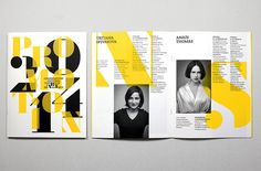 Conservatoire d'Art Dramatique Paris Magazine Page Layouts, Magazine Layout Design, Leaflet Design, Booklet Design, Page Layout Design, Book Layout, Editorial Layout, Editorial Design, Mises En Page Design Graphique