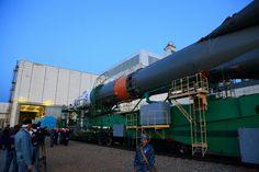 https://flic.kr/p/YJctFE | Baikonurin matka Baikonur_2017_09_10_0590 | Baikonur Cosmodrome area. 10th Sep 2017.  Soyuz MS 06. Roll out.  Juhani Anttonen