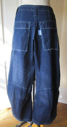BREATHE  Gangsta Jeans lagenlook boho by Breathe1960 on Etsy, $135.00