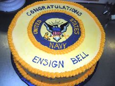 USNA Commissioning Week Cake! @Caroline's Cakes Go Navy, Navy Mom, Graduation Cookies, Graduation Ideas, Carolines Cakes, Party Themes, Party Ideas, Naval Academy, Beautiful Cakes