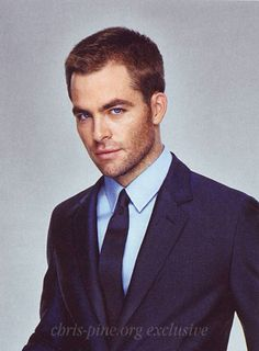 chris pine. yes, please. I'm going to put him on my Dream Wedding board because he's my dream husband hahaha i wish..