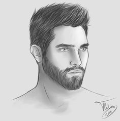 derek hale drawing - Google Search