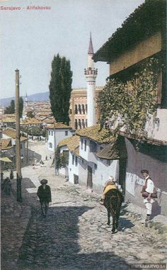 """""""In this world there are many cities with the name sara ... but this  Bosnian city of Sarajevo is the most advanced, beautiful and lively of all."""" #quote Evlija Celebija,,Alifakovac Street,,Sarajevo ,,Bosnia and Herzegovina,,"""