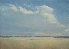 Rich Bowman   Open Plain. Oil on canvas