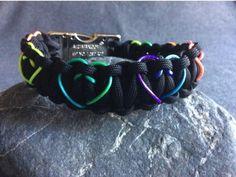 Paracord Hundehalsband Cobra Stitch Herz zum selber machen, Sets mit Anleitung