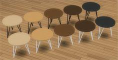 Wire Round End Table – Veranka S4CC