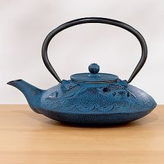 Teapot from Asia, I love the Blue