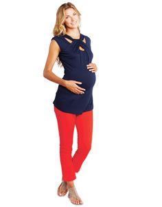 Maternal America Loop Neck Top  #maternity #fashion #pregnancy #style #minefornine