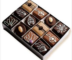 Chocolate Petits Fours