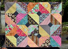 Autumn Boho Quilt (Mama & Baby) - Just Jude Designs - Quilting, Patchwork & Sewing patterns and classes Colchas Quilt, Scrappy Quilts, Baby Quilts, Quilt Blocks, Children's Quilts, Amish Quilts, Quilt Patterns, Sewing Patterns, Sewing Ideas