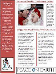 Christmas Letter Writing Advice at Christmas Letter Tips.com | Christmas Letter Tips.com