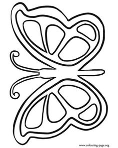 butterfly coloring book pages - Google Search