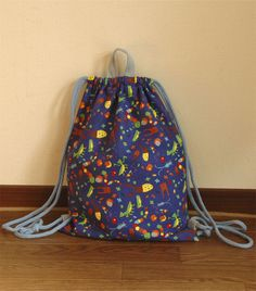 Love Craft, Drawstring Backpack, Diy And Crafts, Backpacks, Canvas, Kids, Handmade, Clothes, Fashion