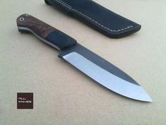 LEAF - O1 carbon steel by MLLKnives on DeviantArt