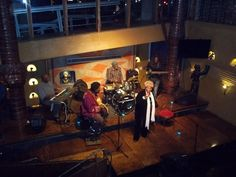 Legendary jazz singer Dorothy Masuka aka the 'Dame of Jazz' live at moyo Melrose Arch