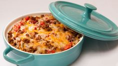 Epicure's Fiesta Taco Dip - Perfect for your New Year's Eve Potluck. Great for the big game, or for hungry teens. Assemble and refrigerate until ready to bake, or make ahead and freeze. A fiesta of flavours in every bite! Appetizer Dips, Appetizer Recipes, Snack Recipes, Dip Recipes, Recipies, Cheese Ball Recipes, Puff Pastry Recipes, Epicure Recipes, Mexican Food Recipes