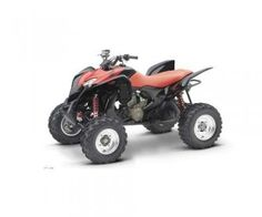 This 2009 year ATV model TRX700XX is one of the toughest, rugged and powerful sport four wheelers from Honda. This metallic black and red color ATV is truly remarkable in looks and features that boost its power as well as ride quality.