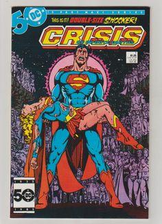 Crisis on Infinite Earths; Vol 1, 7, Copper Age Comic Book. NM. October 1985.  DC Comics #crisis #supergirl #comicsforsale