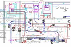 True HVAC design and drawing consultancy includes accurate and energy-friendly assembling of relevant parts to plan the HVAC scheme. The correct layout, control equipment, working elements and plumbing must be used to deliver an energy-efficient and high performing HVAC system.