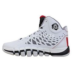 Adidas D Rose 773 II 2 White Red Black 2014 Mens Basketball Shoes Derrick 4  see