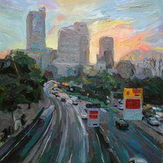 Richard Claremont #Art - Sydney, Australia - #Cityscape #Oil #Paintings for Sale