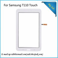 7'' White For Samsung Galaxy Tab 3 Lite 7.0 SM-T110 T110 Touch Screen Digitizer Glass Sensor Replacement Parts Touchscreen