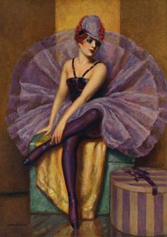 """""""The Violet Butterfly"""" by John Garth 1930's"""