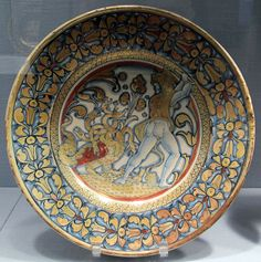 Deruta, TV with Hercules and the Hydra of lerna, 1530-40 ca..JPG