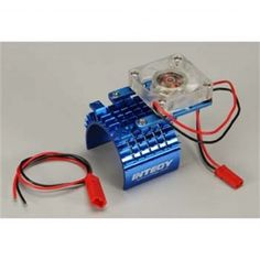 Buy your Integy Super Motor Heatsink+Cooling Fan (INTC22470BLUE) at RC Planet and save on all our Integy parts and accessories.