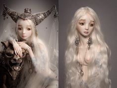 It is not the world of smiles: Enchanted Dolls by Marina Bychkova - 18